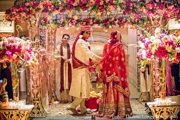 1-indian-wedding-ceremony-mandap-floral-bride-and-groom