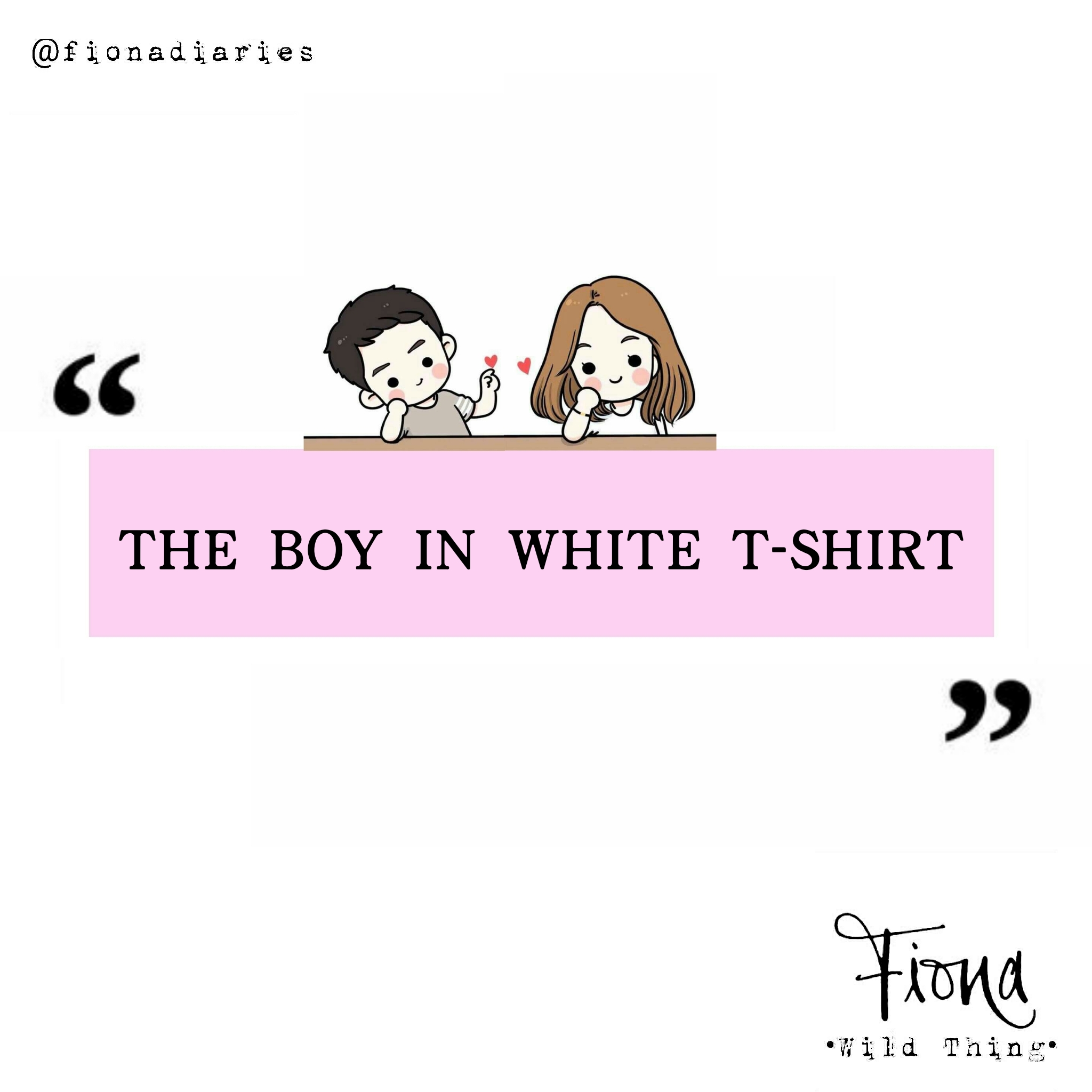 The Boy In White T-shirt